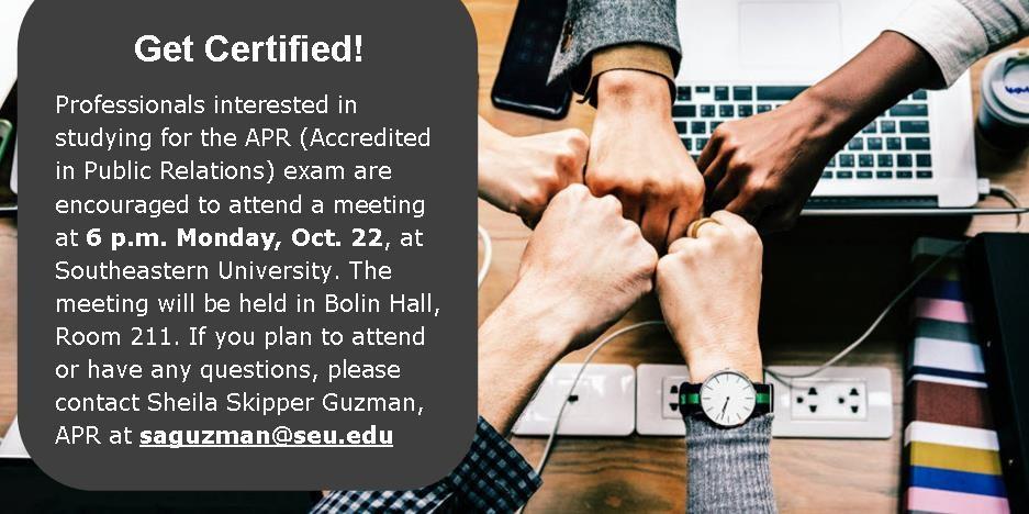 Get Certified!